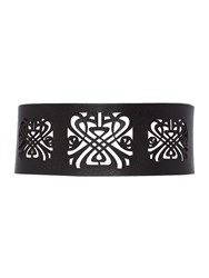 Biba Cut Out Waist Belt Black