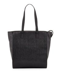 French Connection Cosmic Large Flat Top Tote Bag Black
