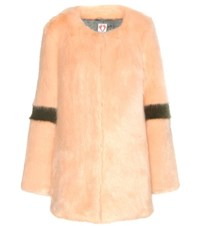 Shrimps Ariel Faux Fur Coat Pink