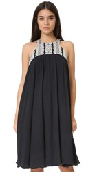 Plenty By Tracy Reese Flyaway Dress Black