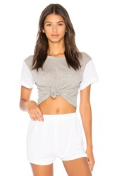 Wildfox Couture Boxy Tee Gray
