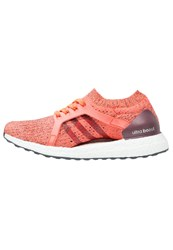 Adidas Performance Ultraboost X Neutral Running Shoes Easy Coral Maroon Glow Orange