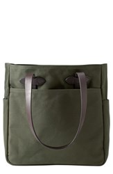 Filson Rugged Twill Tote Bag Green Otter Green