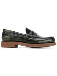 Church's Loafer Shoes Men Calf Leather Leather Rubber 8 Green