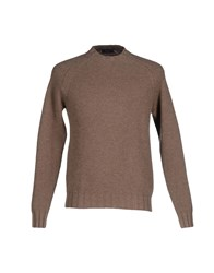Blu Knitwear Jumpers Men Dark Blue