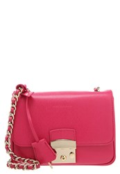 Coccinelle Margo Across Body Bag Blackcherry Pink