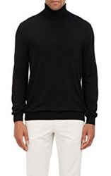 Zanone Flexwool Turtleneck Sweater Black Size Extra Extra Large