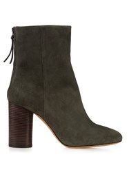 Isabel Marant Garett Suede Ankle Boots Grey