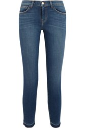 L'agence The Laguna High Rise Skinny Jeans Blue