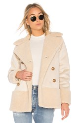 Mother Sherpa Jacket Cream