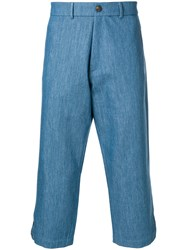 Societe Anonyme 60 Ripped Trousers Blue