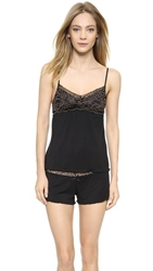 Honeydew Intimates Emma Elegance Pajama Set Black Nude