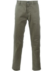 Stone Island Slim Fit Chinos Green