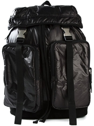 Y's Double Buckle Backpack Black