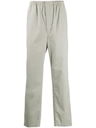 Christophe Lemaire Classic Straight Leg Trousers Grey