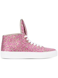 Minna Parikka 'Bunny Sneaks 28' Sneakers Pink And Purple