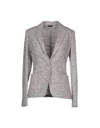 Tombolini Suits And Jackets Blazers Women Light Grey