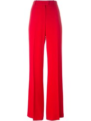 Issa Wide Leg Trousers Red