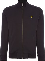 Lyle And Scott Zip Through Tricot Jacket Black