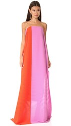 Solace London Alette Maxi Dress Lilac Red