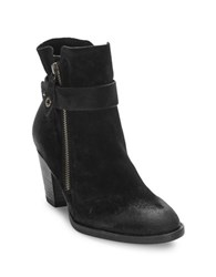 Paul Green Dallas Suede Ankle Boots Black
