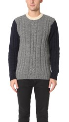 Howlin' Cross Way Sweater Grey
