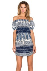 Le Salty Label Drifter Sundress Blue