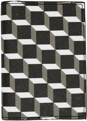 Pierre Hardy Black And White Canvas Cube Card Holder