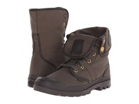 Palladium Pallabrouse Baggy Tw Army Green After Dark Men's Boots Brown