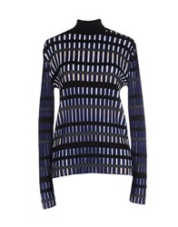 Balenciaga Knitwear Turtlenecks Women Blue