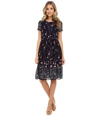 Gabriella Rocha Ansley Floral Dress Black Women's Dress