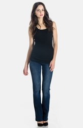 Lilac Clothing 'Signature' Bootcut Maternity Stretch Jeans