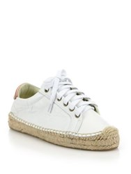 Soludos Leather Platform Tennis Sneakerdrille
