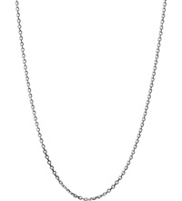 Links Of London Sterling Silver 1.2Mm 45Cm Cable Chain Necklace