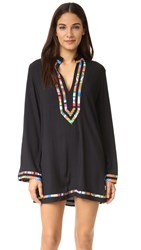 Nanette Lepore Mambo Tunic Cover Up Black