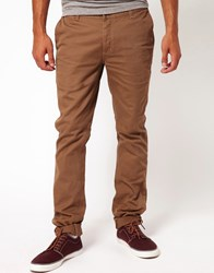 Kr3w Chinos Slim Fit Beige