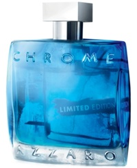 Chrome By Azzaro Summer Eau De Toilette Spray 3.4 Oz Limited Edition