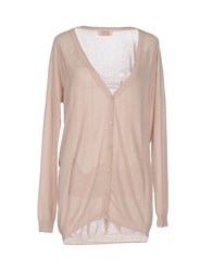 Twenty Easy By Kaos Knitwear Cardigans Women Beige