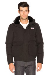 Penfield Hanford Faux Fur Collar Jacket Black