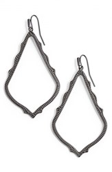 Kendra Scott Women's 'Mystic Bazaar Sophee' Drop Earrings Gunmetal