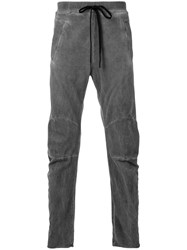 Lost And Found Ria Dunn Formed Sweatpants Men Cotton S Grey