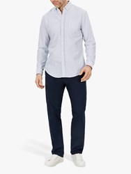 Jaeger Regular Fit Cotton Chinos Navy