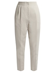 Max Mara Cherson Trousers Light Grey