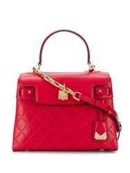 Michael Kors Collection Medium Gramercy Tote Bag Red