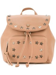 Jimmy Choo 'Suki' Backpack Pink And Purple