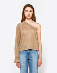 Veda Balance Top In Gold