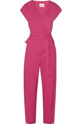 Issa Frieda Cady Jumpsuit Pink