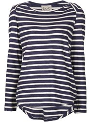 Sea Striped Sweater Blue