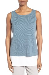 Eileen Fisher Women's Silk And Organic Cotton Shell