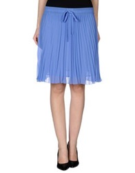 Guess By Marciano Knee Length Skirts Azure